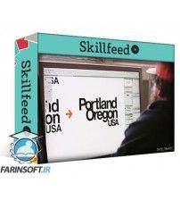 آموزش SkillFeed Customizing Type with Draplin: Creating Wordmarks That Work
