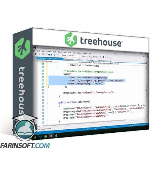 آموزش Team TreeHouse Entity Framework Migrations