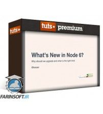 دانلود آموزش Tutsplus Whats New in Node 6