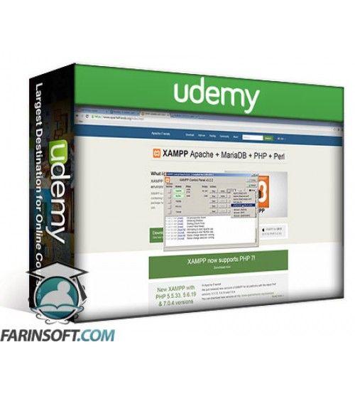 آموزش Udemy JSON AJAX data transfer to MySQL database using PHP