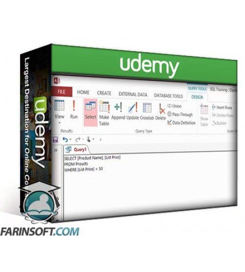 آموزش Udemy Microsoft Access SQL: SQL for Non-Programmers
