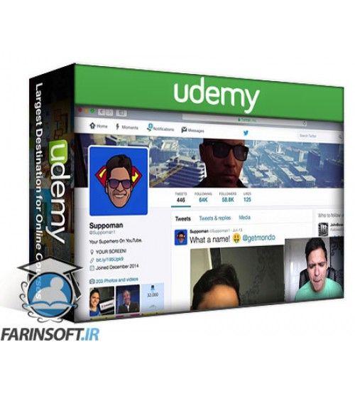 آموزش Udemy TWITTER DOMINATION Get A Six Figure Following In 6 Months!