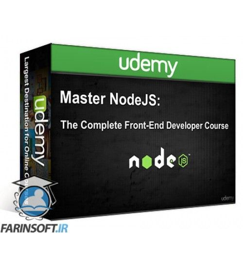 آموزش Udemy Master NodeJS  The Complete Front-End Developer Course 2016
