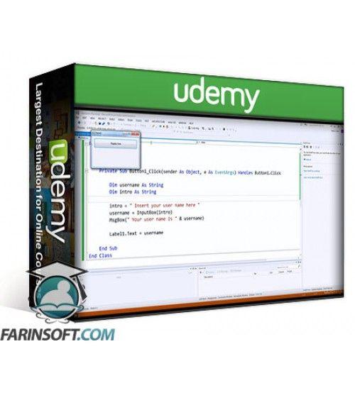 آموزش Udemy Introduction to programming with Visual Basic.Net 2013