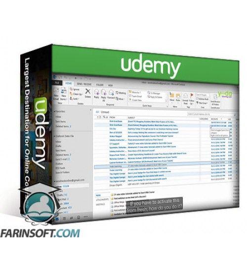 آموزش Udemy Outlook Pro Tricks: Inbox, Search Folders, Tasks & Calendar