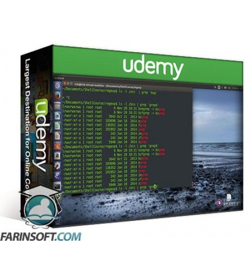 آموزش Udemy Learn GREP and SED on Linux for Beginners – Lite