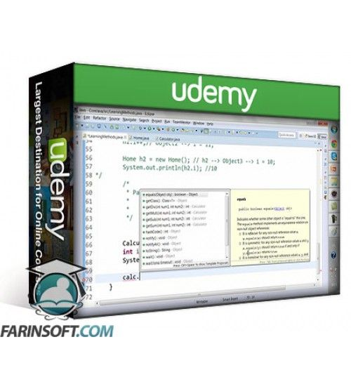 آموزش Udemy Selenium WebDriver Training with Java Basics