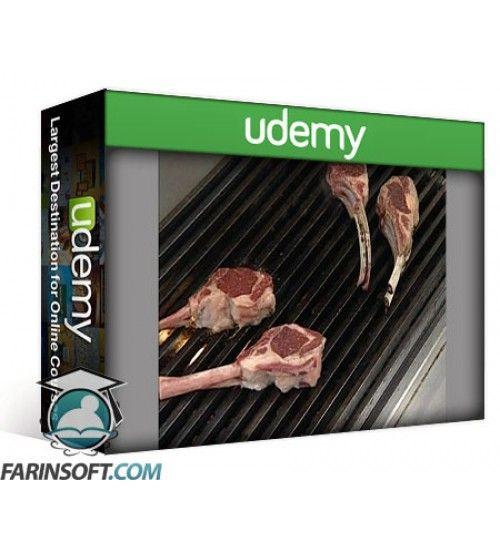 آموزش Udemy Culinary Institute of America – Dry Heat Cooking Methods Vol. 1-2