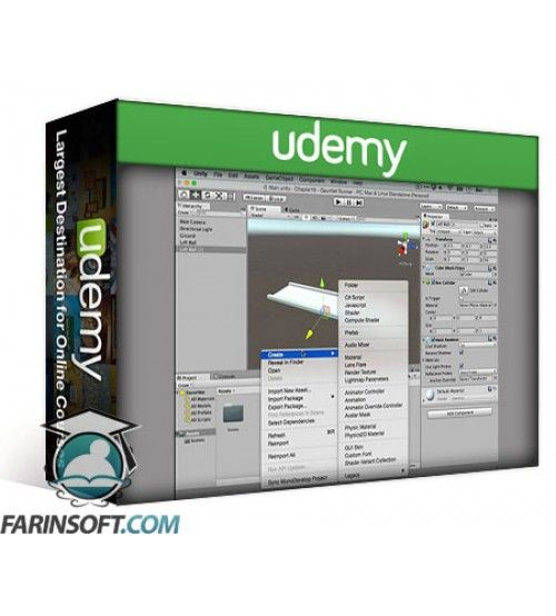 آموزش Udemy Unity Game Development Video How-To