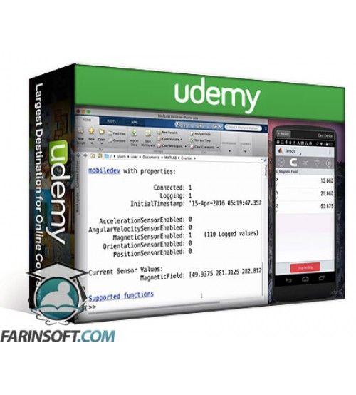 آموزش Udemy MATLAB Projects with Android Phone Sensors
