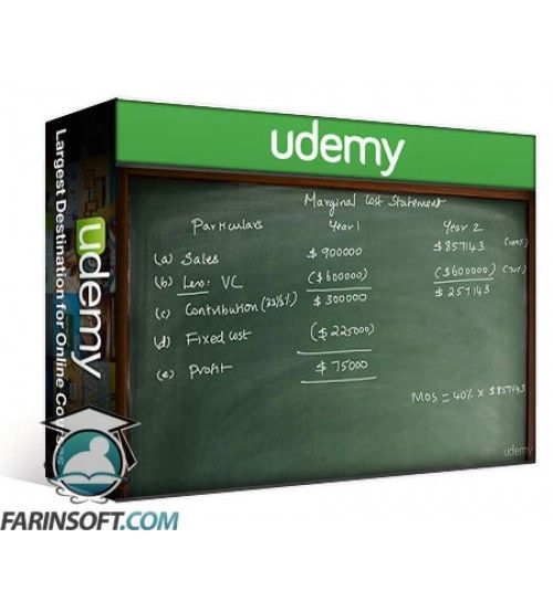 آموزش Udemy Cost Accounting Marginal Costing Theory and Practice