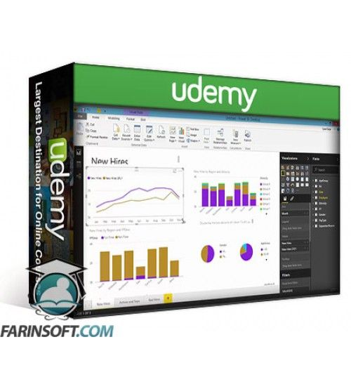 آموزش Udemy Introduction To Data Analytics Using Microsoft Power BI