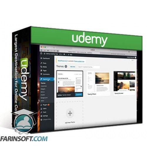 آموزش Udemy LocalHost your own Wordpress Website - Ideal for beginners