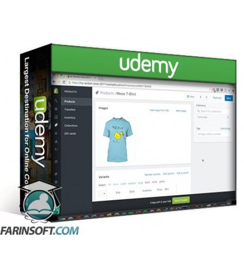 آموزش Udemy Shopify Mastery – Build A Profitable E-Commerce Store