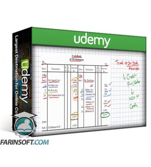 آموزش Udemy Accounting Cash Book (College Level)