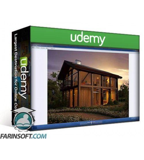 آموزش Udemy 3ds max and V-ray for architect. Advanced  3d visualisation