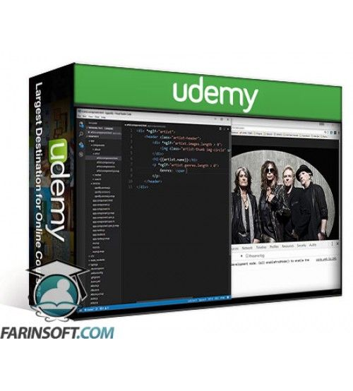 آموزش Udemy Learn Angular 2 Development By Building 12 Apps