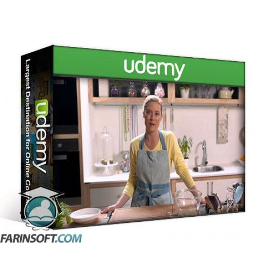 آموزش Udemy Make Sweet Treats at Home with Yuppiechef