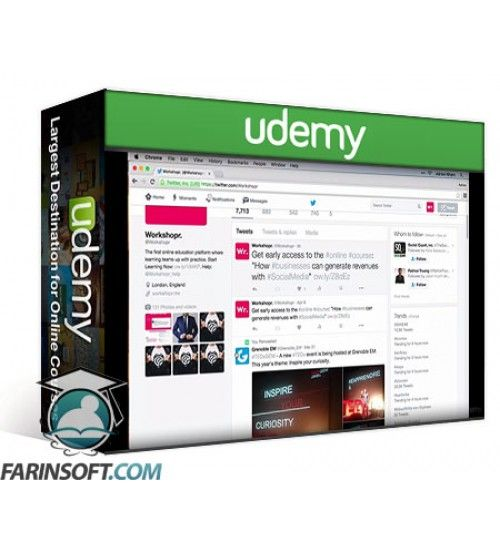 آموزش Udemy Practical Social Media Marketing for Businesses
