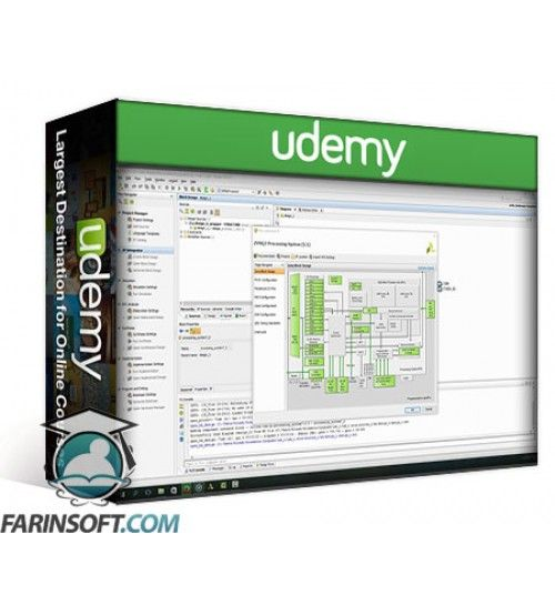 آموزش Udemy Zynq Training - Learn Zynq 7000 SOC device on Microzed FPGA