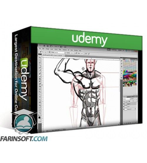 آموزش Udemy Discover How to Draw and paint Comics