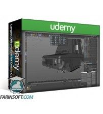 آموزش Udemy Cinema 4D – Modeling the Tiny Shogun in Cinema 4D