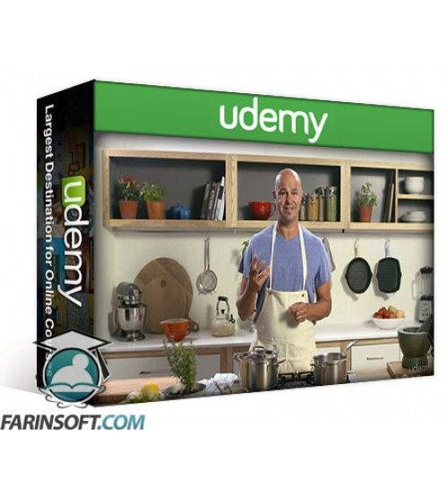 آموزش Udemy Learn to Cook French Classics with Yuppiechef