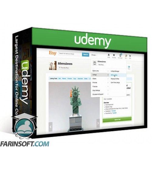 آموزش Udemy Etsy newbies & Social Media basics your journey starts here