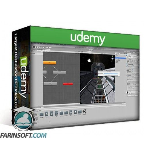 آموزش Udemy Mastering 3D Animation in Unity