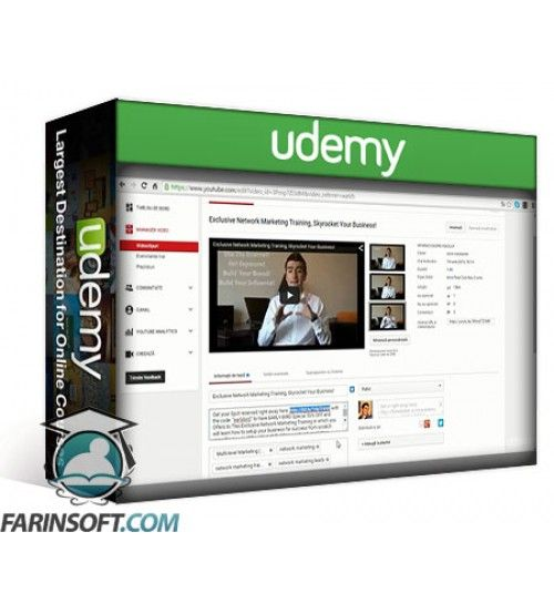 آموزش Udemy Video Marketing Hacking How to Fire Up Your Online Presence