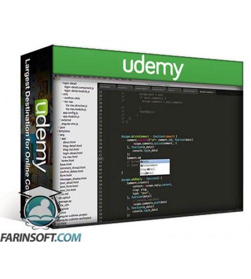 آموزش Udemy Django + AngularJS for a Powerful Web Application