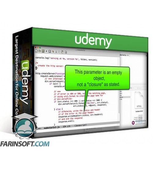آموزش Udemy Getting Started with NodeJS for Beginners