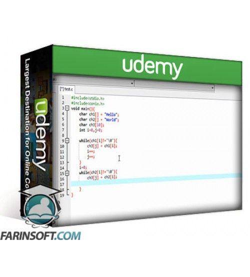 آموزش Udemy Intermediate topics of C language - Learn Intermediate C