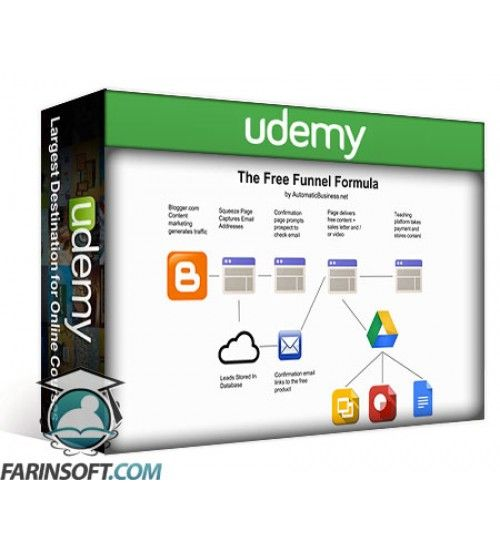 آموزش Udemy The Free Funnel Formula Build A Landing Page With Free Tools
