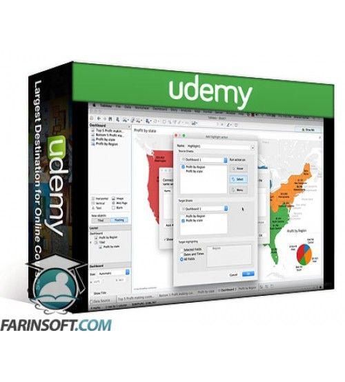 آموزش Udemy Tableau 9.3 Desktop Server & Data Science