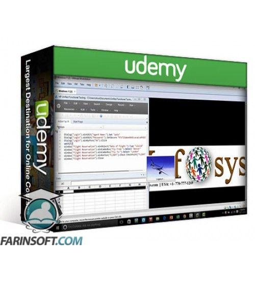 آموزش Udemy Automation Testing using HP Quick Test Professional (QTP)
