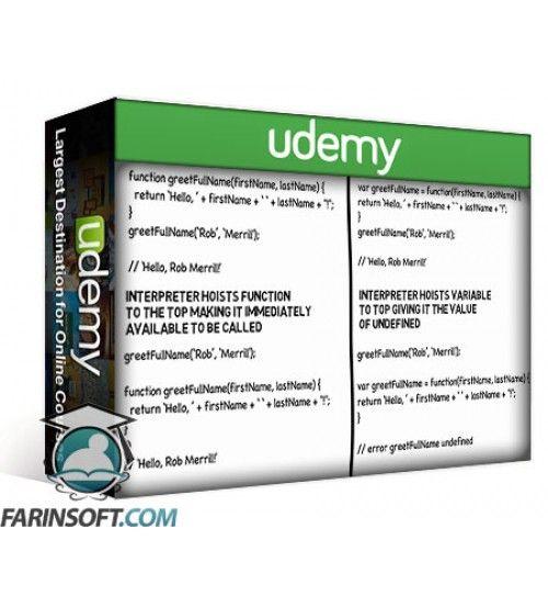 آموزش Udemy JavaScript the Basics : JavaScript for Beginners