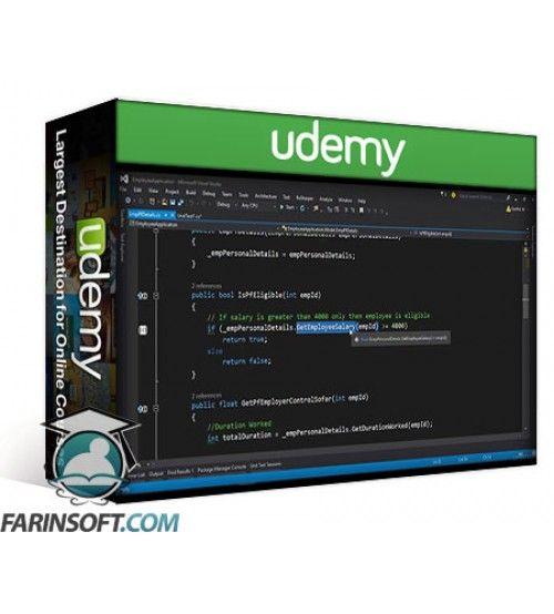 آموزش Udemy Mocking application with Moq