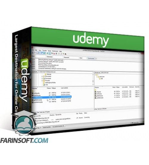 آموزش Udemy Android Development Working With Mysql & PHP(Live on Web)