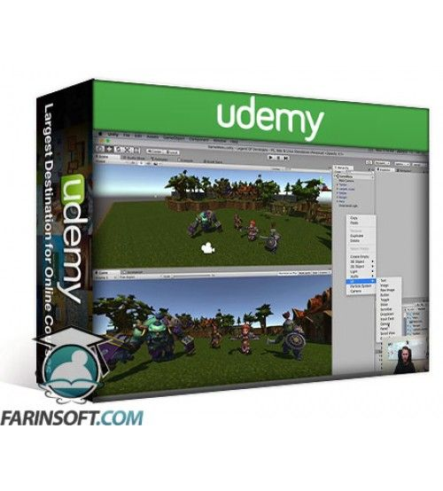آموزش Udemy Unity Game Development Academy: Make 2D & 3D Games
