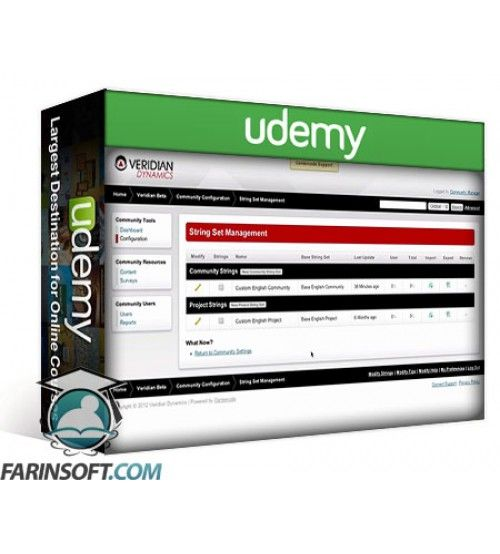 آموزش Udemy Centercode Stage 1-2