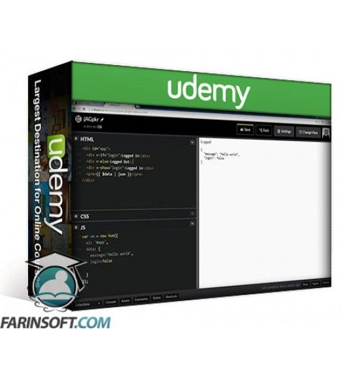 آموزش Udemy Getting Started with Vue.js