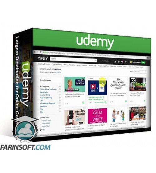 آموزش Udemy Amazon Video Direct: Create and Sell Videos on Amazon