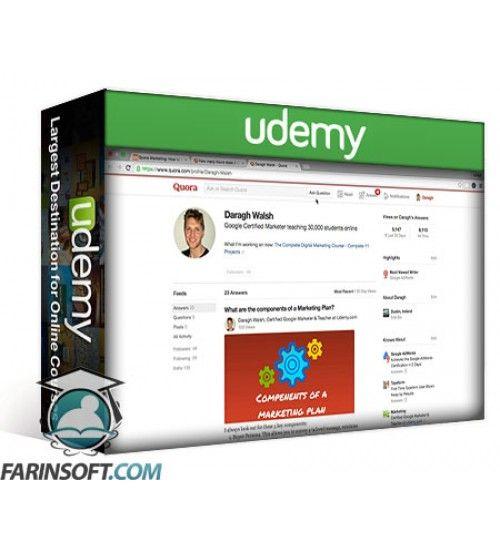 آموزش Udemy Quora: Become an Authority & Increase Website Traffic Fast
