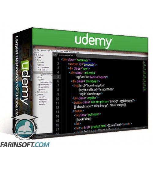 آموزش Udemy Angular 2 with Typescript - Essential Training