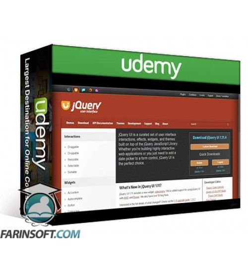 آموزش Udemy jQuery Scratch