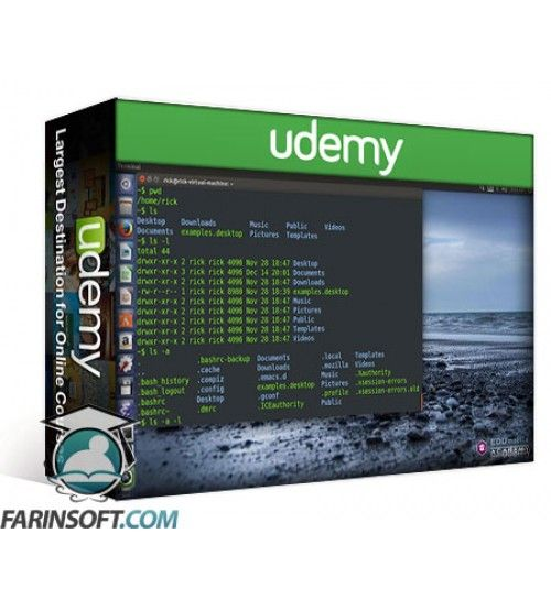 آموزش Udemy Learn Basic Commands in Linux Shell