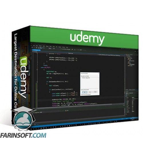 آموزش Udemy Learn to program Tic Tac Toe Game in Visual C++ on Windows