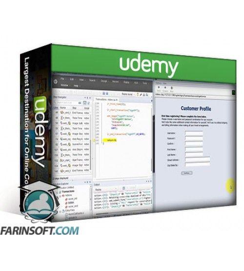 آموزش Udemy Performance testing using LoadRunner12.5
