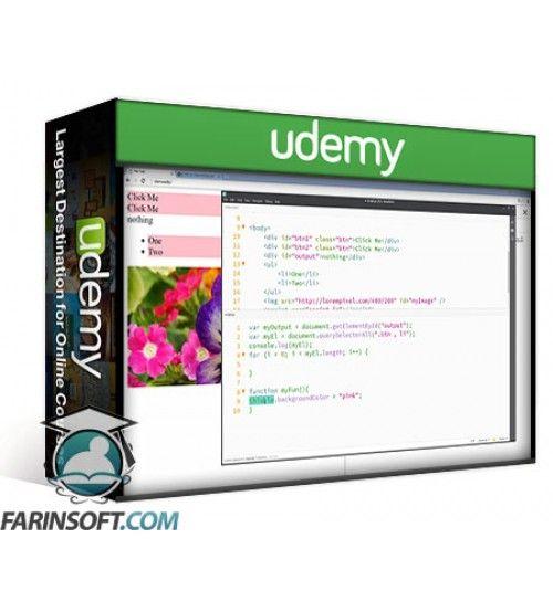 آموزش Udemy QUICK Frontend Website Creation HTML CSS JavaScript jQuery